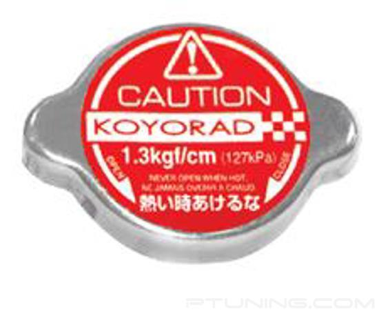Picture of Hyper Red Radiator Cap A-Type for All Koyo Radiators - 1.3kgf/cm Pressure Rating