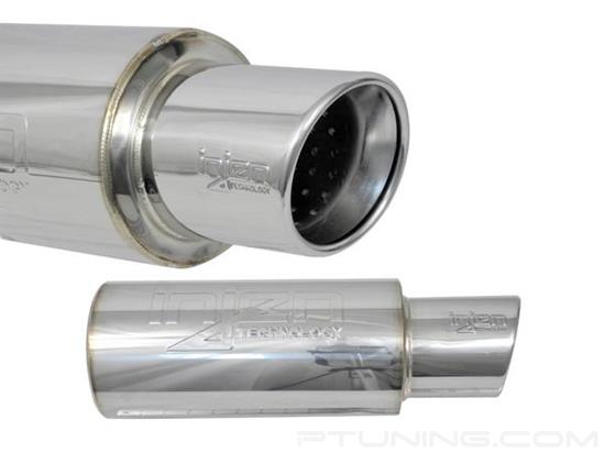 Picture of Stainless Steel Exhaust Muffler with Single Rolled Tip