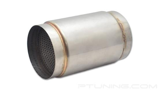 """Picture of Race Exhaust Muffler (5"""" ID Inlet/Outlet, 9"""" Length, 304 SS)"""