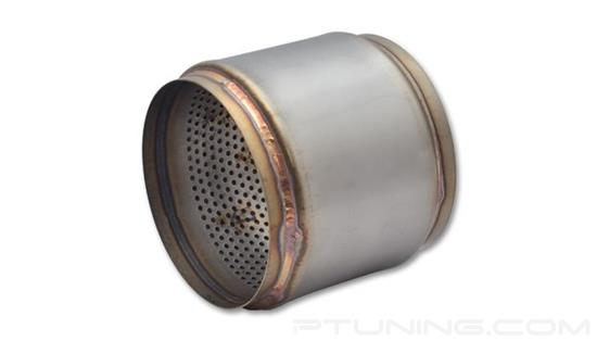 """Picture of Race Exhaust Muffler (5"""" ID Inlet/Outlet, 5"""" Length, 304 SS)"""
