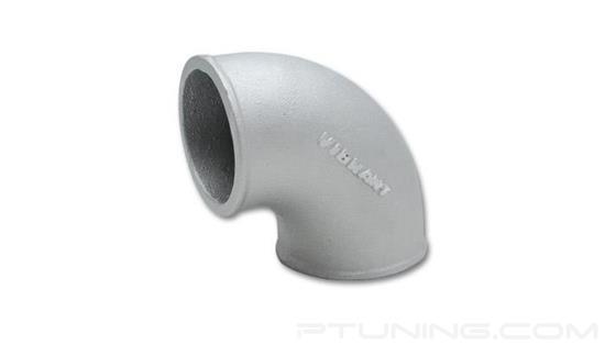 """Picture of Cast Aluminum 90 Degree Elbow, 2.5"""" OD, Tight Radius"""