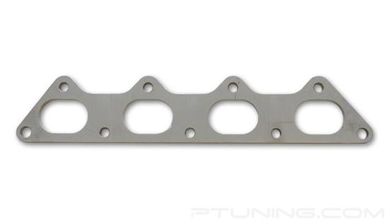 """Picture of Exhaust Manifold Flange for Mitsubishi 4G63 Motor, 3/8"""" Thick, 304 SS"""