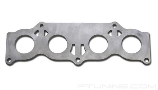 "Picture of Exhaust Manifold Flange for Toyota 2AZFE Motor, 3/8"" Thick, 304 SS"