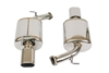 Picture of Legamax Series 304 SS Dual Rear Section Exhaust System with Split Rear Exit