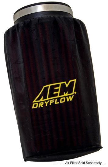 Picture of DryFlow Pre-Filter - Black, Round, Tapered