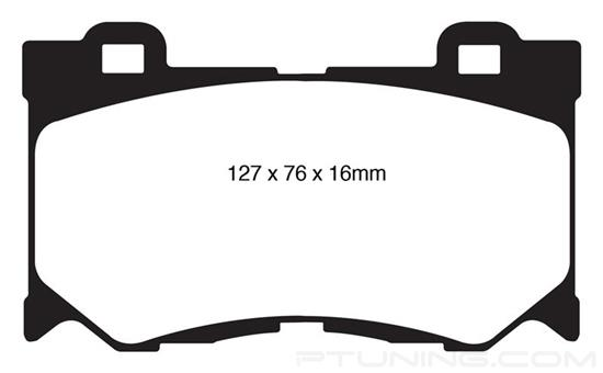 Picture of Greenstuff 6000 Series Truck and SUV Front Brake Pads