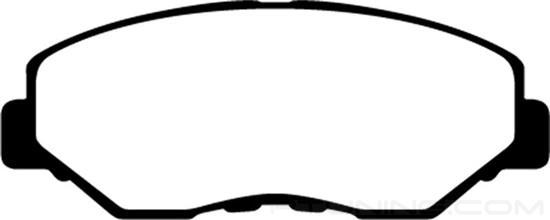 Picture of Greenstuff 7000 Series SUV Supreme Compound Front Brake Pads