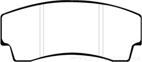 Picture of Yellowstuff Brake Pads