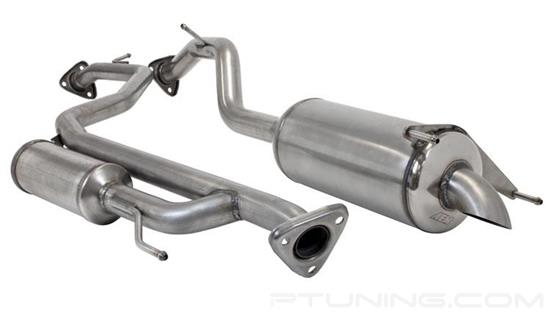 Picture of Stainless Steel Cat-Back Exhaust System with Single Tip