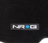 Picture of Floor Mats with NRG Logo - Black (4 Piece)