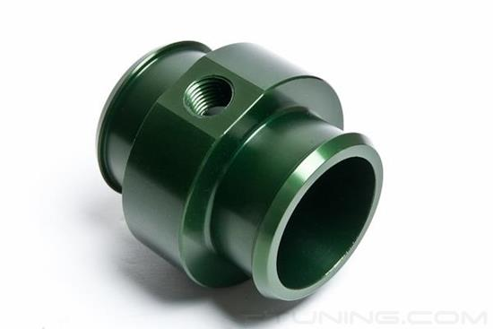 "Picture of 1-3/4"" Hose Barb Adapter with 1/4"" NPT Port - Green"