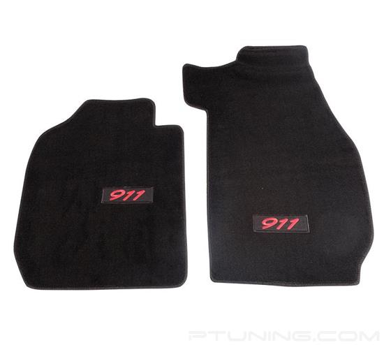 Picture of Floor Mats with NRG Logo - Black (2 Piece)