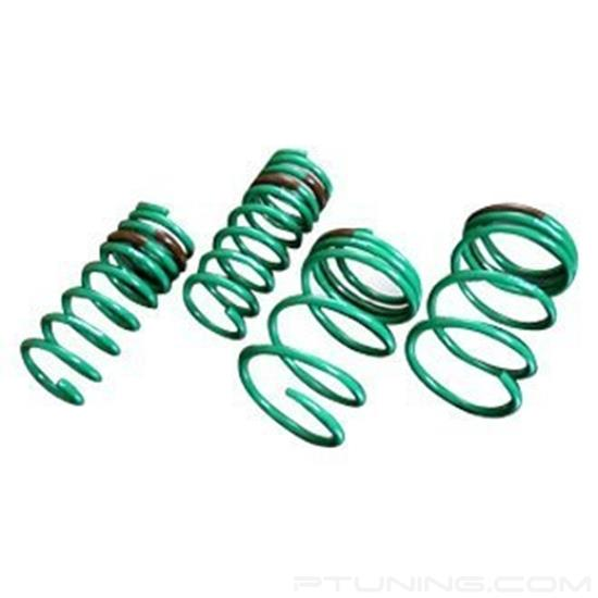 "Picture of S-Tech Lowering Springs (Front/Rear Drop: 2.3"" / 1"")"