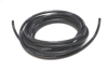 """Picture of High Temperature Silicone Vacuum Hose, 6mm (1/4"""") ID, 10 Foot Length - Black"""