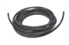 """Picture of High Temperature Silicone Vacuum Hose, 6mm (1/4"""") ID, 25 Foot Length - Black"""
